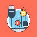 Plugin Plug Cord Icon
