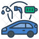 Plugin Hybrid Electric Vehicle Car Vehicle Icon
