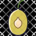 Plum Fruit Core Icon