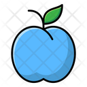 Plum Fruit Organic Food Icon