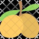 Yellow Plum Fresh Icon