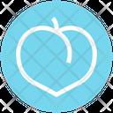 Plum Prune Apricot Icon