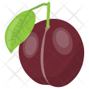 Plum Pulp Fleshy Icon