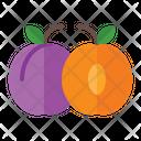 Plum Organic Vegetarian Icon