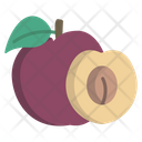 Plum Fruit Food Icon