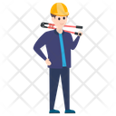 Plumber Pipefitter Repairman Icon