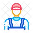 Plumber Worker Profession Icon