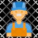 Plumber Technician Engineer Icon