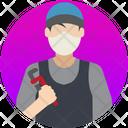 Plumber Repair Mechanic Icon