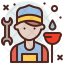 Plumber Profession Professional Icon