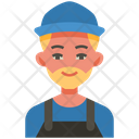 Plumber Work Worker Icon