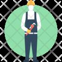 Plumber Repairman Mechanic Icon