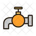 Plumbing Water Tap Supply Icon