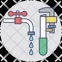 Plumbing Plumbery System Icon