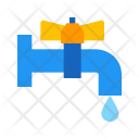 Plumbing Water Tap Icon