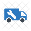 Plumbing Services Truck Icon