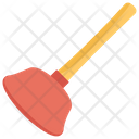 Plunger Cleaning Tool Toilet Cleaning Icon