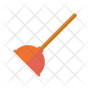 Plunger Chores Cleaning Icon