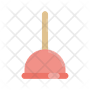 Plunger Tool Bathroom Icon