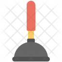 All Purpose Plunger Clogged Icon