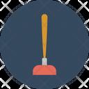 Vacuum Clean Bathroom Icon
