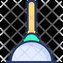 Plunger Toilet Tooil Icon