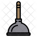 Plump Plunger Tools Icon