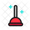 Plunger Toilet Force Icon