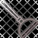 Plunger Repair Suction Icon