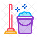 Plunger And Bucket Icon