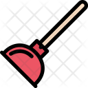 Plunger Plumber Cleaning Icon