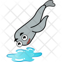 Plunging In Water Icon