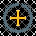 Plus Add Circle Icon