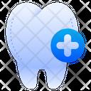 Plus Add Dental Care Icon