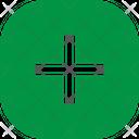 Plus Button Square Icon