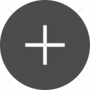Addition Add Maths Sign Icon