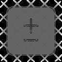 Plus or Minus Icon