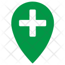 Plus Point Location Icon