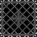 Plus Square Icon