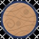 Pluto Planetary System Planet Icon