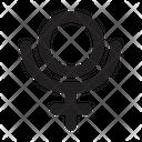 Pluto Astrology Symbol Icon