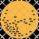 Pluto Planet Solar Icon