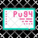 Plutonium Element Color Icon