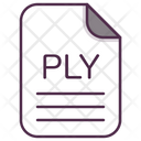 Ply File Document Icon