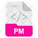 Pm file Icon