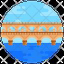 Poant De Barcy Bridge Footbridge Icon