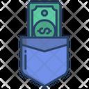 Pocket Money Wallet Icon