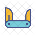 Blade Tool Clasp Icon