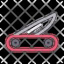 Knife Cut Blade Icon