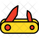 Pocket Knife Nail Clipper Cutter Icon